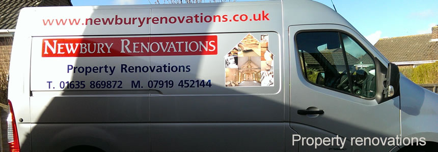 Newbury Renovations Van